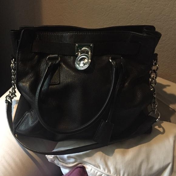 730cb22b0c0c Michael Kors Bags | Hampton Blk W Silver Hardware | Poshmark