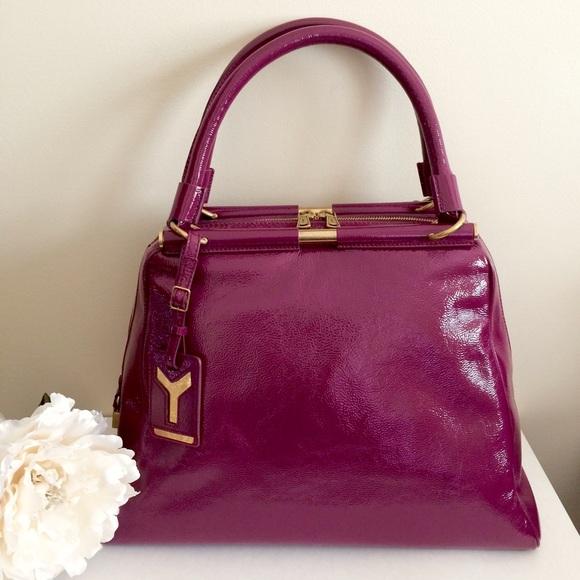 NWT YSL Yves Saint Laurent Majorelle Purple Bag 49396ee055047