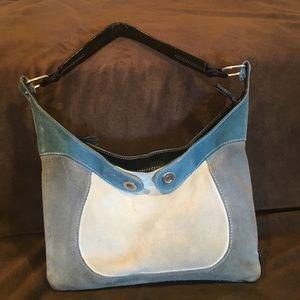Francesco Biasia Handbags - Suede handbag.