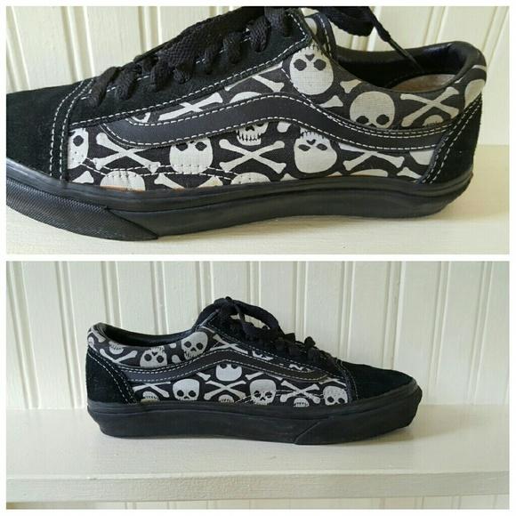 Vans Shoes Skulls Warped Tour 2002