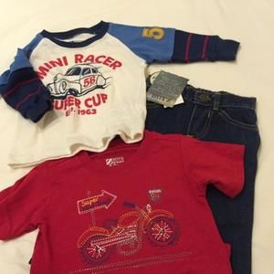 Other - NWT 12m Racer 3 Pc. Set