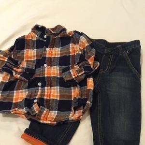 Gymboree Other - 12-18m Gymboree Plaid Outfit
