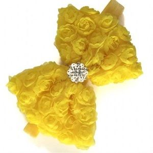 Other - 5 FOR $20 Large Rosette Bow Headband