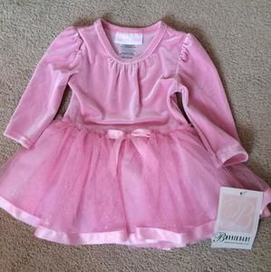 Bonnie Baby Other - NWT - Pink Princess Glitter Tutu Dress 3-6M