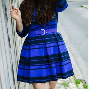 GAP Dresses & Skirts - Navy Blue and Black A-Line Dress