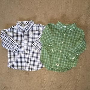 Gymboree Other - Gymboree size 12–18 months 2  button down shirts excellent used condition