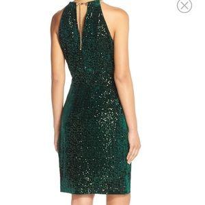 dfc23fa7 Eliza J Dresses | Nwt Velvet And Sequin Sheath Dress | Poshmark