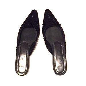 J. Crew Shoes - J. Crew Beaded Mules