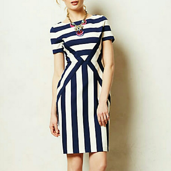 030aaf511f8c Anthropologie Dresses & Skirts - Rare Anthropologie Maeve geo stripes dress