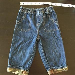 Disney Baby denim jeans with faux pockets (12m)