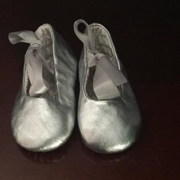 Designer Touch Baby Silver Ballet Style