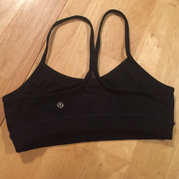 7f49756dc7 lululemon athletica Tops - Used lulu black sports bra size 6 -lowest-