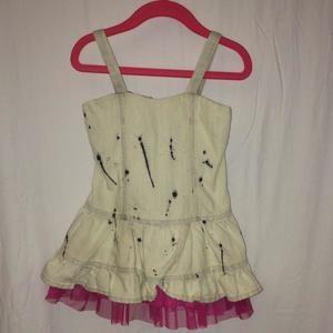 Little Mass Other - 2t Little Mass denim dress