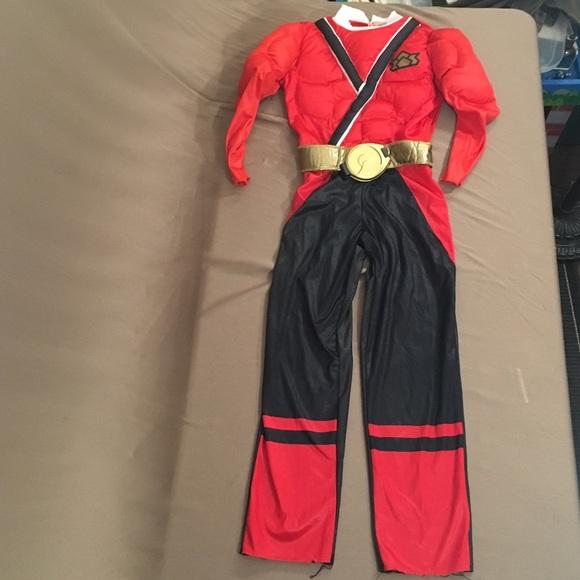 Power Rangers Samurai muscle costume size 6 & Power Ranger Costumes | S Samurai Muscle Costume Size 6 | Poshmark