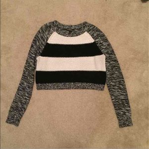 3 for $13! Express sweater/crop top