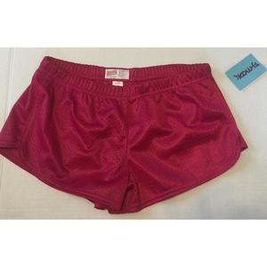 Soffe Other - NWT Soffe hot pink athletic shorts cheer, sz small