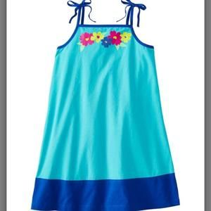Hanna Andersson Other - NEW Hanna Andersson Teal Summer Dress 9-11yrs