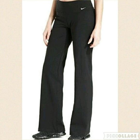 Nike Pants Jumpsuits Dri Fit Black Yoga Pants Poshmark
