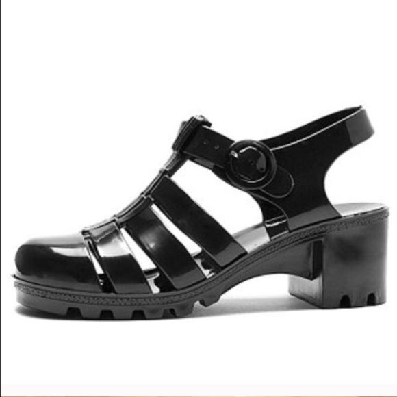 746c82b593b0 American Apparel Shoes - American apparel Black Jelly sandals