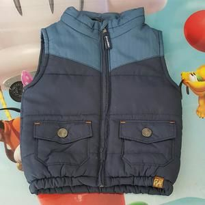 Other - 👣 Blue Puffer Vest: 18 mo