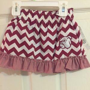Other - Mississippi State Bulldogs Skirt HAIL STATE🐾