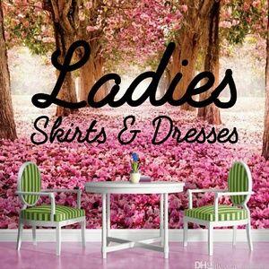 Ladies Skirts & Dresses