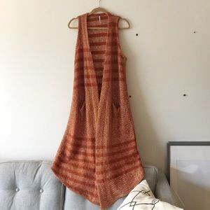 Free People Sweaters - NWOT Free People Sleeveless Sweater Cardigan