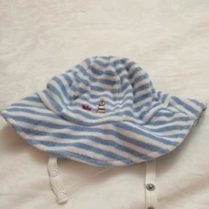 Kissy Kissy Other - Kissy Kissy boys terry cloth sun hat