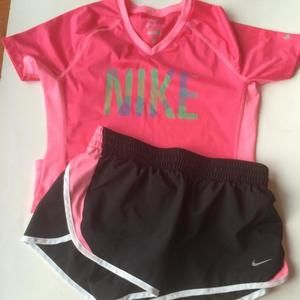 Nike Other - Nike Athletic Tee and Shorts