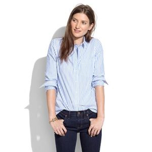 Madewell cafe boy shirt