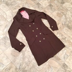LIPSY brown trench coat