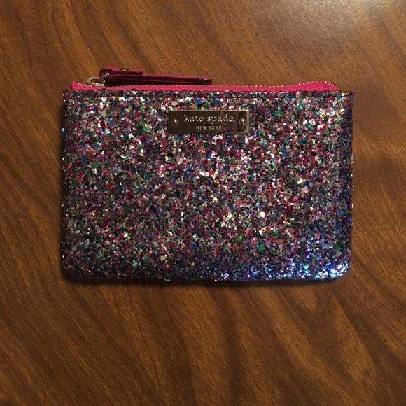 kate spade Handbags - Kate spade glitter ball coin purse bd240c332b37