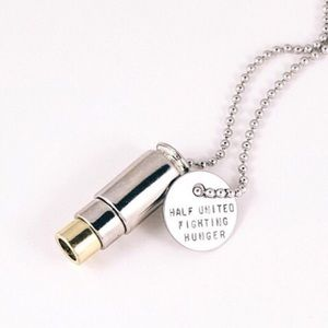 Half United Jewelry - 🎉SALE🎉❗LAST 1❗ Half United Bullet Necklace S&G