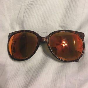 Revo Other - Revo cateye tortoise shell with orange lenses