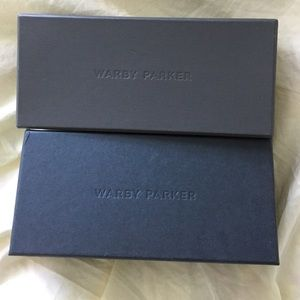 warby parker Other - Set of 2 Warby Parker glasses storage boxes
