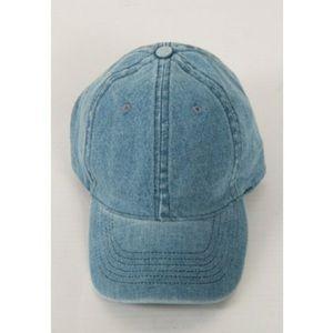Fashionomics Accessories - Denim Baseball Cap