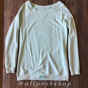 Ellie Tops - NWOT Ellie mint green tunic sweatshirt