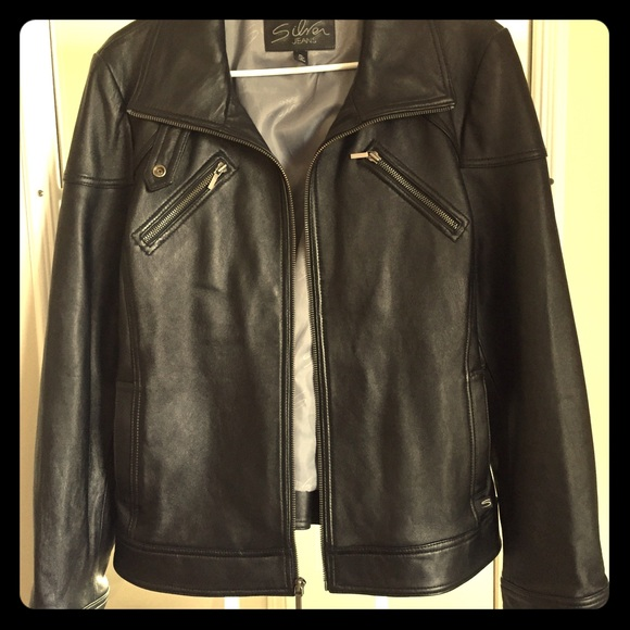 44% off Silver Jeans Jackets & Blazers - Silver Jeans Leather ...