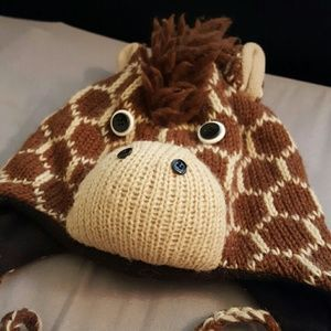 knitwits Other - Knitwits Delux Giraffe Winter Hat