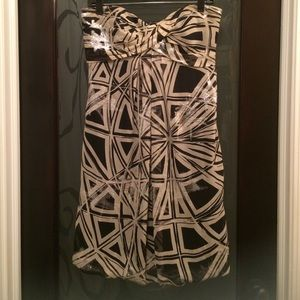 Strapless Nicole Miller dress size 8
