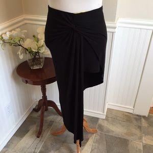 Finesse Dresses & Skirts - Plus size amazing asymmetrical black skirt. B028