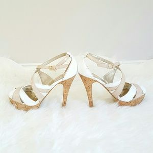 Guess Shoes - {Guess} Criss Cross Sandal Heels