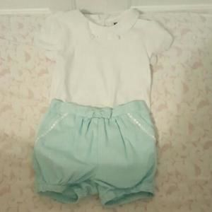 Janie and Jack Short Outfit