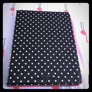 kate spade polka Dot iPad case