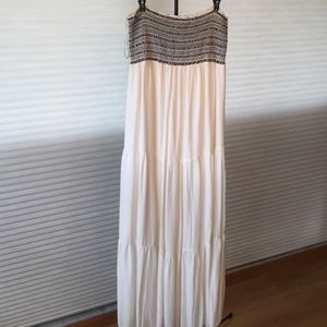 Merona strapless maxi dress