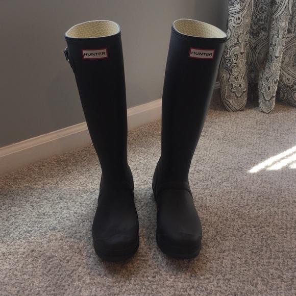 Matte Hunter Rain Boots | Poshmark