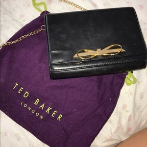 Baker by Ted Baker Handbags - Red Baker Black Mini back