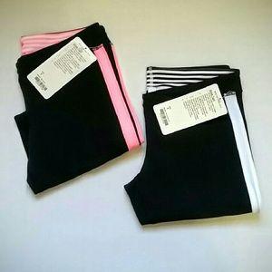 "lululemon athletica Pants - Bundle of Two Lululemon ""Strike"" crop pants NWT"