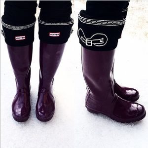 Hunter Boots Other - Hunter Trompl'oiel Welly Socks!
