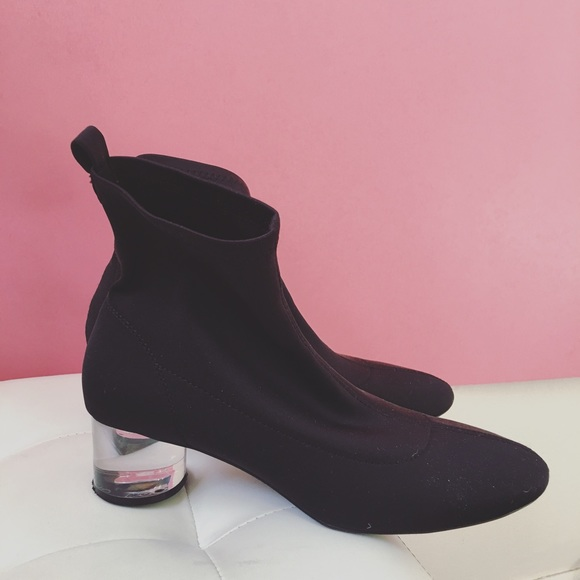 c7d4dd6046b0 Zara Ankle Boots with Methacrylate Heel Size39. M 58027d1c4225be198d00ea00